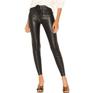 NWT Free People Vegan High Rise Long and Lean Pant